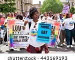 london  uk. 25th june 2016.... | Shutterstock . vector #443169193