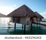 bungalow | Shutterstock . vector #443196343