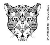 design for your t shirt pattern ... | Shutterstock .eps vector #443205637