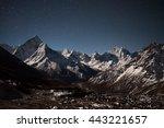 Ama Dablam Mountain Panoramic...