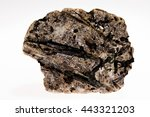 actinolite mineral inosilicates ...   Shutterstock . vector #443321203