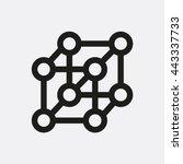 atom icon | Shutterstock .eps vector #443337733