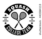 squash team vector icon | Shutterstock .eps vector #443384113