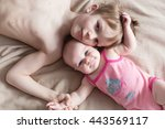 children  brother with sister | Shutterstock . vector #443569117