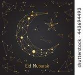 beautiful abstract design... | Shutterstock .eps vector #443694493