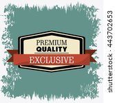 label icon. premium and quality ... | Shutterstock .eps vector #443702653