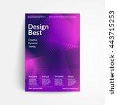 Line Halftone Cover Design....