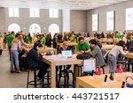 berlin  germany   april 22 ...   Shutterstock . vector #443721517
