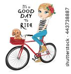 cute girl vector.cartoon character.Children illustration for School books and more. Separate Objects