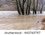 River Burst Its Banks After...