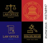 law office logo collection. the