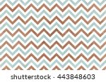 watercolor brown and blue... | Shutterstock . vector #443848603