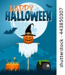 Classic Halloween Design With ...