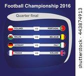 football championship 2016. net....   Shutterstock .eps vector #443874913