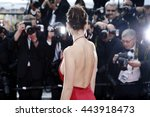 cannes  france   may 18  model... | Shutterstock . vector #443918473