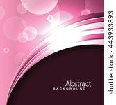 vector pink background.... | Shutterstock .eps vector #443933893