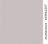 seamless knitted pattern... | Shutterstock .eps vector #443962207