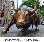 new york city   june 27  2016 ...   Shutterstock . vector #443971063