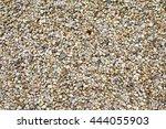 gravel driveway background... | Shutterstock . vector #444055903