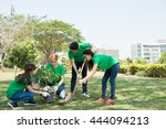 group of asian young people...   Shutterstock . vector #444094213