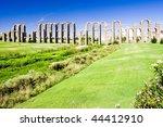 aqueduct of los milagros ... | Shutterstock . vector #44412910