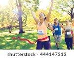 fitness  sport  victory ...   Shutterstock . vector #444147313