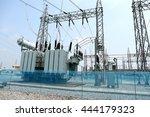 transformer   the equipment... | Shutterstock . vector #444179323