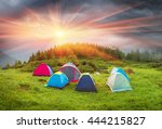the mountain system marmarosh   ... | Shutterstock . vector #444215827