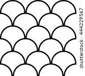 Vector Seamless Pattern Of Sem...