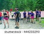 pokljuka  slovenia  06.25.2016  ... | Shutterstock . vector #444233293
