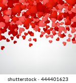 romantic valentine background... | Shutterstock .eps vector #444401623
