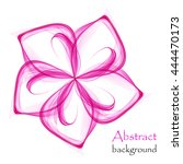 abstract pink background  | Shutterstock .eps vector #444470173