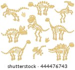 Vector Collection Of Dinosaur...