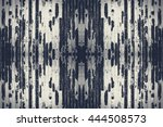 grunge cracked wall paint | Shutterstock . vector #444508573