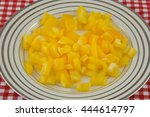 Chopped Yellow Bell Pepper On...