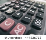 digital calculator to use... | Shutterstock . vector #444626713