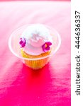 cupcake on pink cloth  thailand