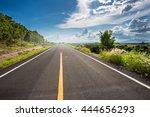 highland road  | Shutterstock . vector #444656293