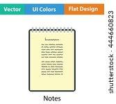 binder notebook icon. flat...