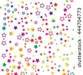 vector star background design | Shutterstock .eps vector #444704773