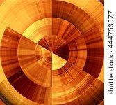 art abstract graphic spherical... | Shutterstock . vector #444753577