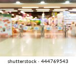 abstract blurred entrance area... | Shutterstock . vector #444769543
