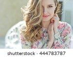 beautiful woman | Shutterstock . vector #444783787