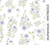 Small Flower Pattern. Vintage...