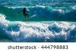 surfing | Shutterstock . vector #444798883