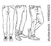 hand drawn fashion design men's ...