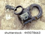Russian Vintage Padlock With...