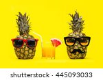 Two Fun Fashion Pineapples Wit...