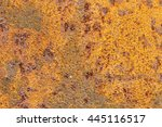 a background of peeling paint... | Shutterstock . vector #445116517