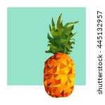 colorful summer concept... | Shutterstock . vector #445132957